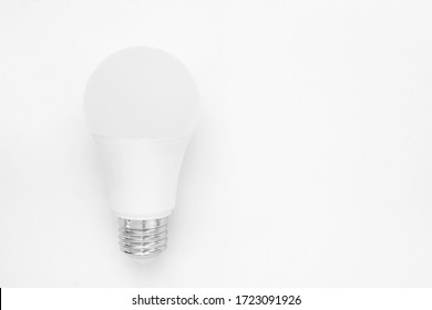 LED bulb isolated on white background