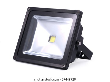 LED lamp; projector; object on white background