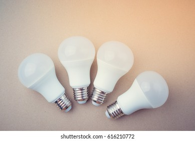 LED Light bulb.