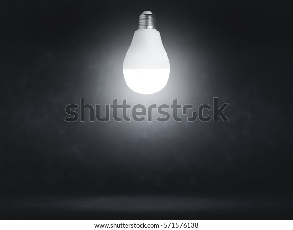 Led Light Dark Room Stock Photo Edit Now 571576138