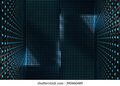 Led light digital Pattern Technology system Abstract background