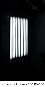 LED light equipment in shooting studio for movie or film video online production.