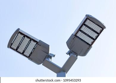 LED Lighting of parking