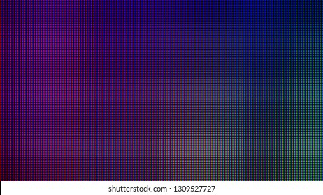 LED lights from computer LED monitor screen display panel for graphic website template. electricity or technology concept design. Abstract background Christmas, Happy new year 2020.
