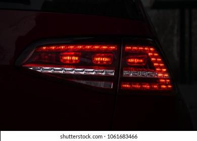 Car Tail Light Images, Stock Photos & Vectors | Shutterstock