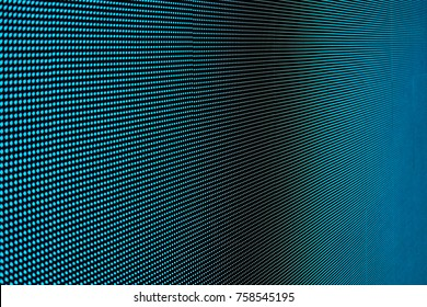 LED screen panel close up abstract background