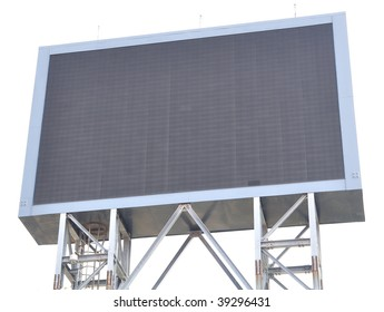 a led signboard