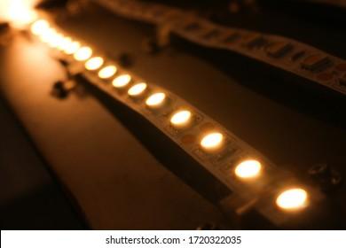Led strip light color Warmwhite