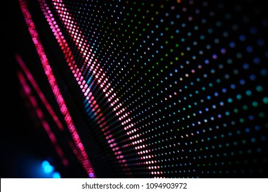 LED Wall Abstract Artwork