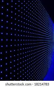 LED wall background