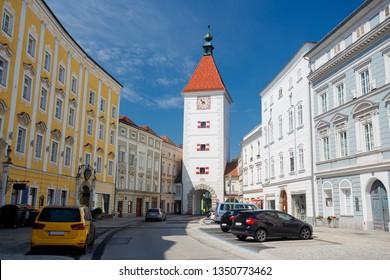 Lederer tower, Wels, Austria