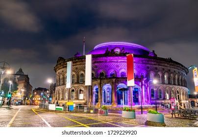 Leeds Corn Exchange, a Victorian building in Leeds - West Yorkshire, England