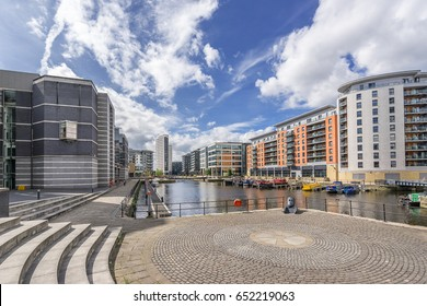 Leeds Dock is a coplex of apartments and office buildings in central Leeds