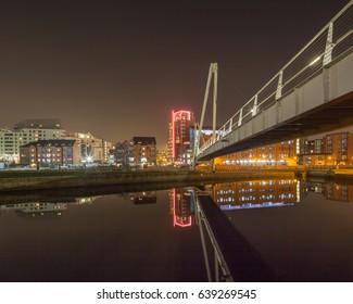 Leeds Dock Footbridge, Leeds