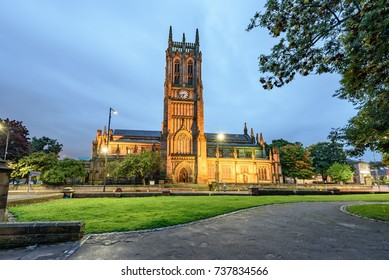 Leeds Minster, West Yorkshire is a large Church of England foundation of major architectural and liturgical significance.