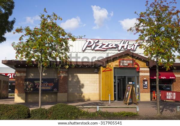 Leeds Uk 15 September 2015 Pizza Stock Photo Edit Now