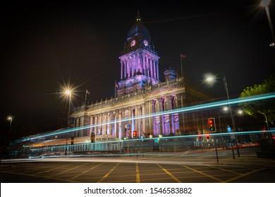 Leeds/ United Kingdom - July 2019: amazing Leeds city