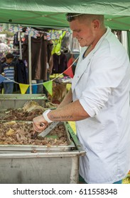 LEEK STAFFORDSHIRE ENGLAND - 26th July 2014 - Leek & District Show. 