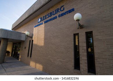 Leesburg - FLORIDA - USA - 05-22-19 - LEESBURG MUNICIPAL SERVICES BUILDING