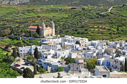 Lefkes traditional village on Paros island, Cyclades, Greece