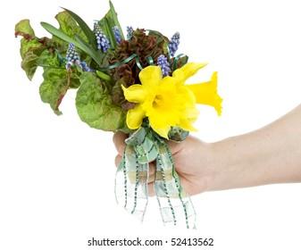 left bouquet