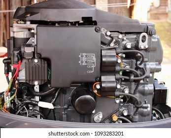 Yamaha Boat Motor Images, Stock Photos & Vectors   Shutterstock