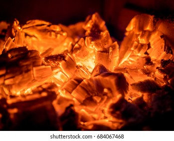 Leftovers of Campfire Embers