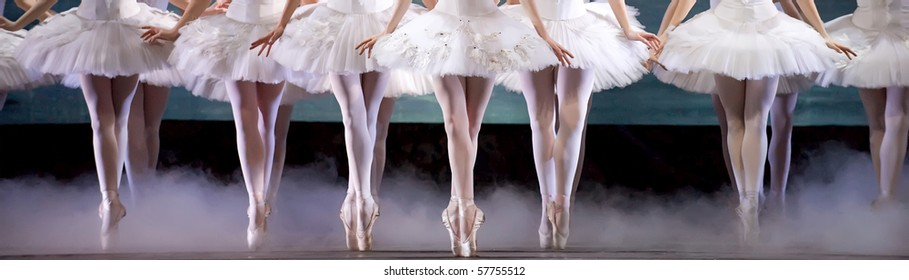 leg of ballerinas