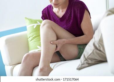 Leg Pain In A Woman