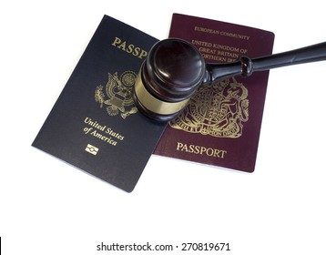 Legal law American US Britain and EU concept image