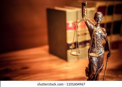 Legal law concept image.