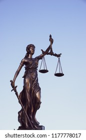 Legal law concept image, Scaled of Justice