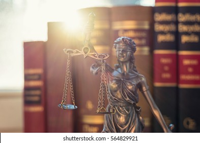 Legal law concept image Statue of Justice
