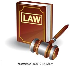 Legal Practice Icon - Illustration