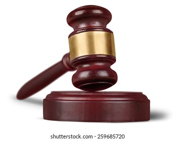 Legal, symbol, gavel.