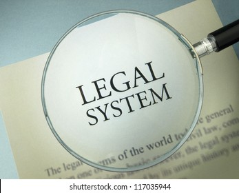Legal system and rule of law
