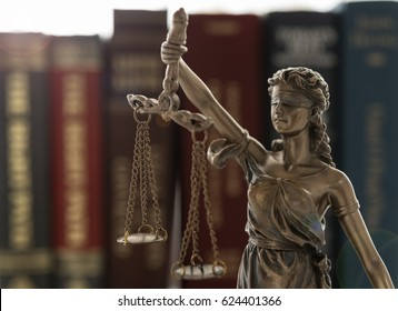 Legal,Justice,Legislation Concept. Lady of justice with law books.