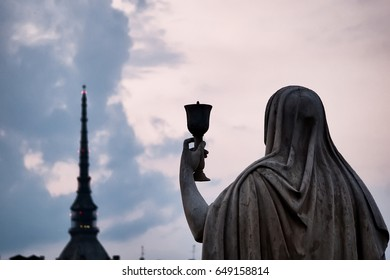The legend of the Holy Grail Turin Italy