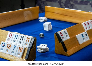 Legendary game okey and game table