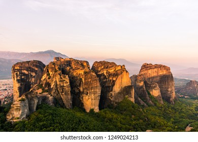 Legendary Meteora Mountais and surroundings