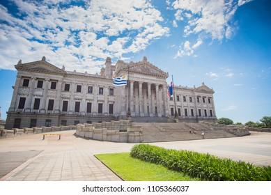 Legislative Palace Montevideo Uruguay