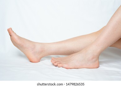 Legs hair removal for men, after.
