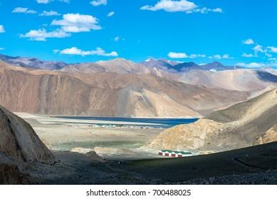 Leh Ladakh highway in Himalayas Aug 2017