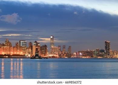 Lei Yue Mun, Yau Tong, view of Hong Kong