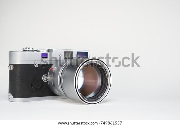 Leica Mp Allmechanical Rangefinder 35 Mm Stock Photo (Edit Now