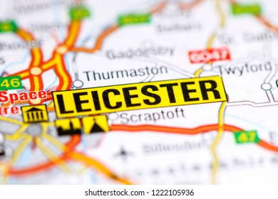 Leicester Map Images Stock Photos Vectors Shutterstock