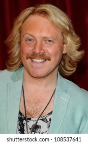 Leigh Francis arriving for the British Soap Awards 2012 at London TV Centre, South Bank, London. 28/04/2012 Picture by: Steve Vas / Featureflash