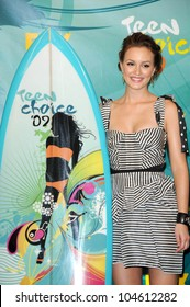 Leighton Meester  in the press room at Teen Choice Awards 2009. Gibson Amphitheatre, Universal City, CA. 08-09-09