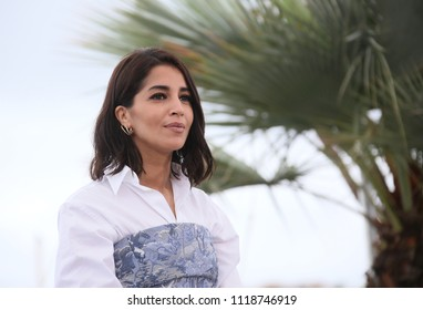 Leila Bekhti attends the photocall for 'Sink Or Swim (Le Grand Bain)' during the 71st annual Cannes Film Festival at Palais des Festivals on May 13, 2018 in Cannes, France.