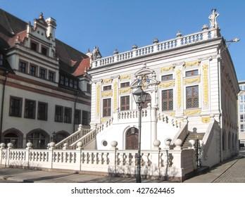 Leipzig, Alte Börse, old exchange market